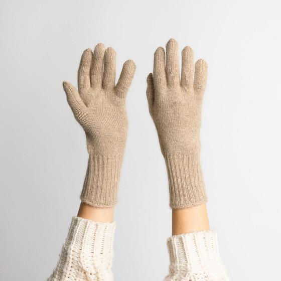 Hat Attack Cashmere Glove, Taupe