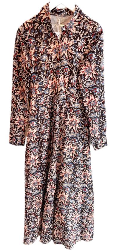 Livro Classic Shirtdress, Midnight Floral