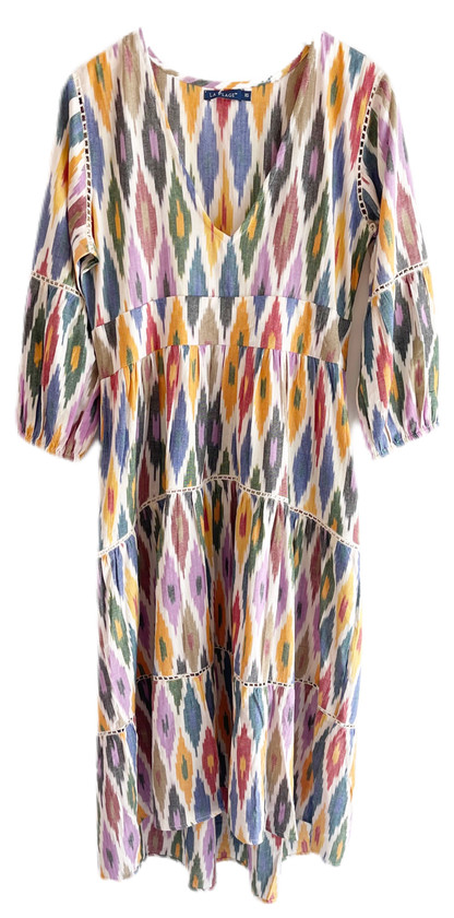La Plage Watermill Dress, Ikat