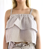 English Factory Cropped Top