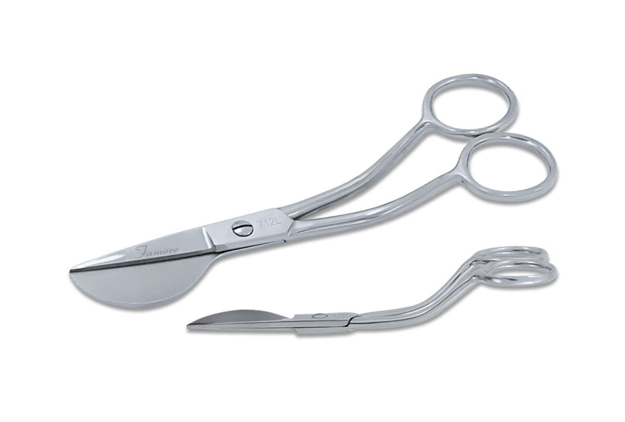 True Left Handed - Duck Bill Applique Scissors 712L