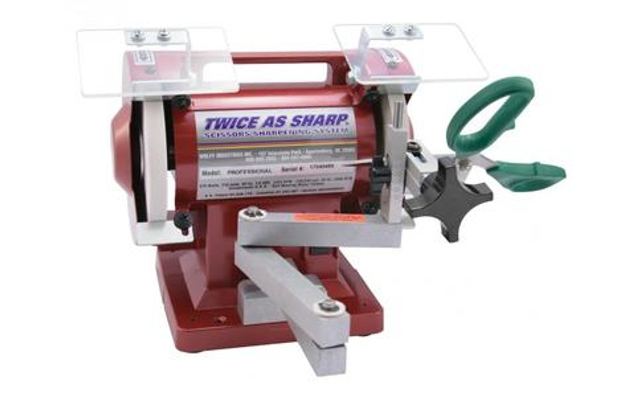 TAS - Twice as Sharp Scissors Sharpening System