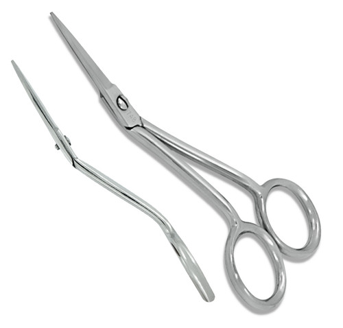 Mini Angled (Straight) Machine Embroidery Scissors Item# 748S