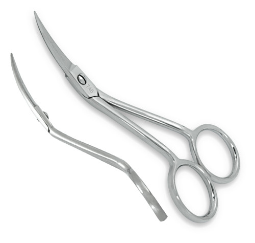 Double Curved Machine Embroidery Scissors Item# 748C