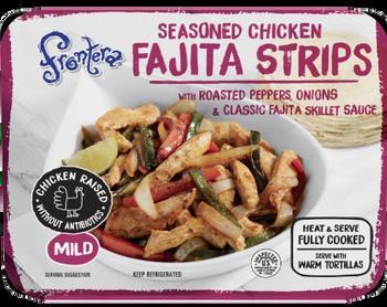 Frontera Chicken Fajita Strips, 2.5lbs (Fully Cooked)