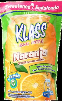 "Klass ""Naranja/Orange"" Drink Mix, 15.9oz"
