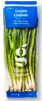 Fresh Green Onions Scallions 5.5oz  Wilson Inmate Package Program