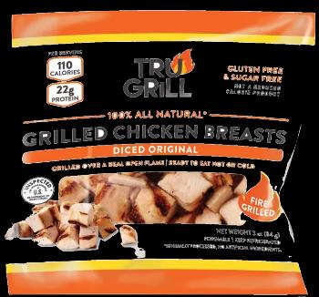 Tru Grill Grill Diced Original Chicken Breasts  Wilson Inmate Package Program