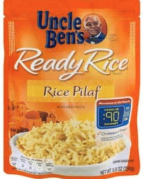Uncle Ben's Ready Rice 8.8oz |Wilson Inmate Package Program