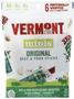 Vermont Smoke & Cure Beef & Pork Sticks, 3oz