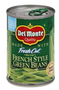 Del Monte French Cut Green Beans |Wilson Inmate Package Program