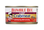 Bumble Bee Fancy Lump Crabmeat 6oz |Wilson Inmate Package Program