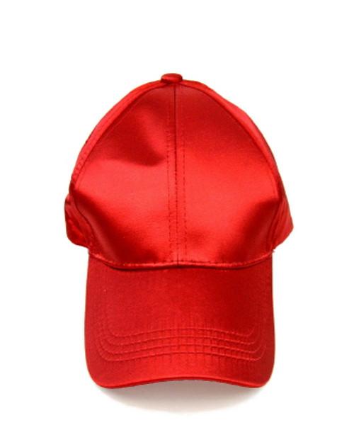 02cf4a9bfbb ... Satin Baseball Cap ...