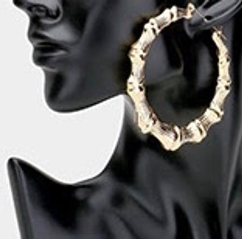 Oversized Fly Girl Earrings