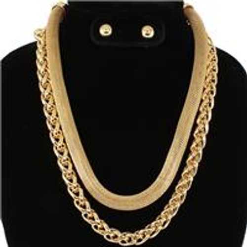 2 Chains Necklace