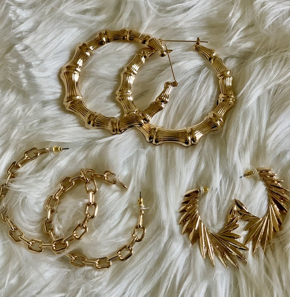 Gold Rush Earring Trifecta