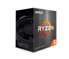 AMD Ryzen 5 5600X 6-Core/12 Threads, Max Freq 4.6GHz, 35MB Cache Socket AM4 105W, With Wraith Stealth cooler | 100-100000065BOX | Rosman Computers - 2