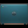 """HP Chromebook 11 EE G9, 11.6"""" HD, Celeron N4500, 4GB, 32GB eMMC, Chrome64, Nautical Teal, 1Yr RTB Warranty"""