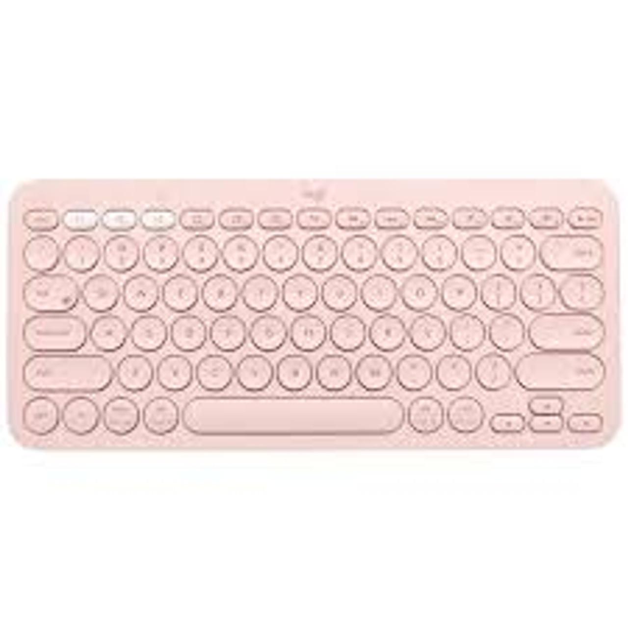 Logitech K380 Multi Device Bluetooth Keyboard Rose Rosman Computers