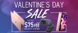 Valentine's Day Sale on Apple and Logitech