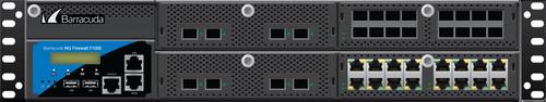 Barracuda CloudGen Firewall F-Series F1000 model CFE (16 copper 16 SFP 1G and 8 SFP+ 10G ports)