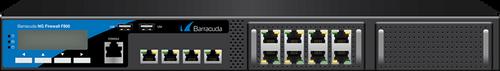Barracuda CloudGen Firewall F-Series F800 model CCE (16 copper and 4 10G SFP+ fiber ports)