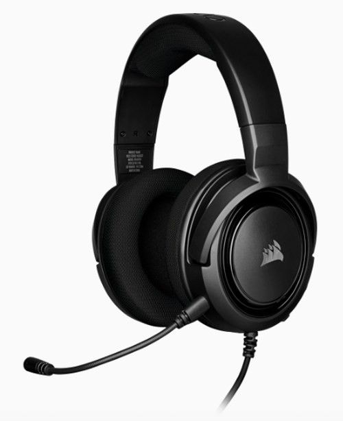 CORSAIR HS35 STEREO Gaming Headset, Carbon