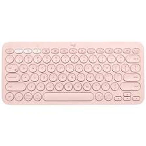 Logitech K380 Multi-Device Bluetooth Keyboard - Rose