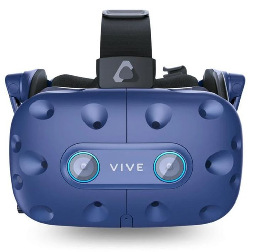 HTC VIVE PRO EYE FULL KIT, HEADSET, BASE STATIONx2, CONTROLLERx2, USB 3.0 CABLEx1, MICRO USB CABLEx2, 2 YR LIMITED WARRANTY,