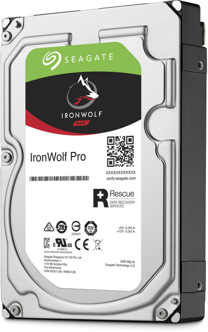 "Seagate IronWolf Pro NAS HDD 3.5"" 4TB SATA 7200RPM 128MB CACHE NO ENCRYPTION 5YRS"