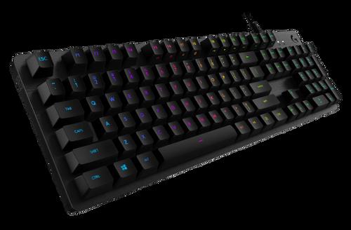 Logitech Carbon RGB Mechanical Gaming Keyboard, GX Blue (Clicky)