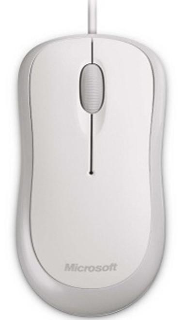 Microsoft Basc Opt Mse Win32 PS2/USB EN/XC/FR/IT/ES Hdwr - White