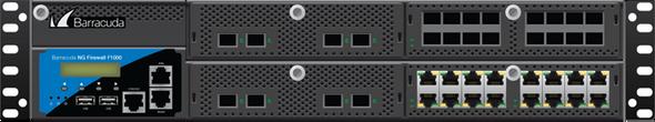 Barracuda CloudGen Firewall F-Series F1000 model CE0 (16 copper 1G and 4 SFP+ 10G ports)