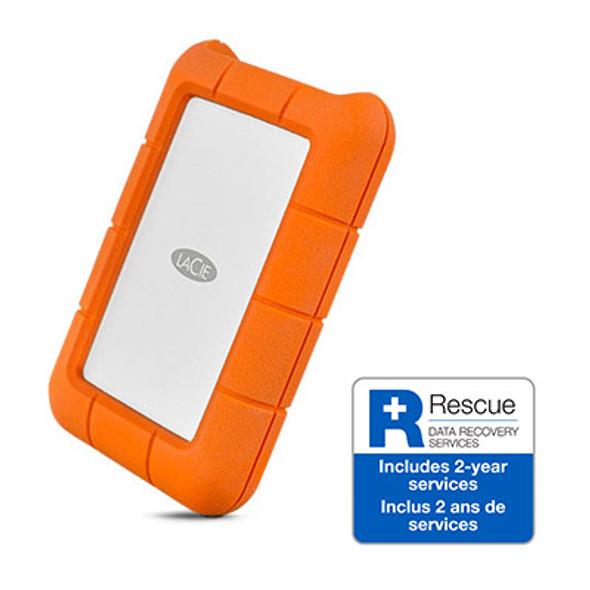 LaCie Rugged USB 3.1 TYPE C 2.5E 4TB 3600RPM 2YRS