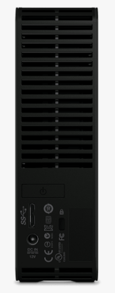 Western Digital WD ELEMENTS DESKTOP 12TB BLACK AUS/NZ | WDBBKG0120HBK-AESN | Rosman Computers - 5