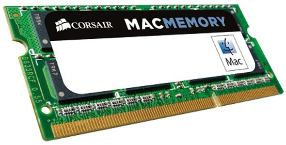 CORSAIR Apple Qualified 8GB (1x8GB) DDR3L DRAM SODIMM 1600MHz C11 1.35V