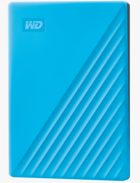 Western Digital MY PASSPORT 2TB BLUE WORLDWIDE