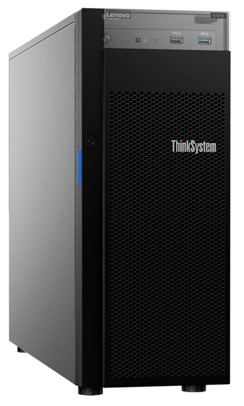 Lenovo SERVER ST250, 1xIntel Xeon E-2246G 6C 3.6GHz 80W, 1x16GB 2Rx8, SW RD, 1x550W, LFF, XCC Std-Top Choice | 7Y45A04DAU | Rosman Computers - 2