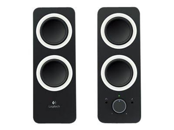 Logitech z200 Multimedia Speakers - Midnight Black   980-000850   Rosman Computers - 1