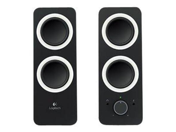 Logitech z200 Multimedia Speakers - Midnight Black   980-000850   Rosman Computers - 2