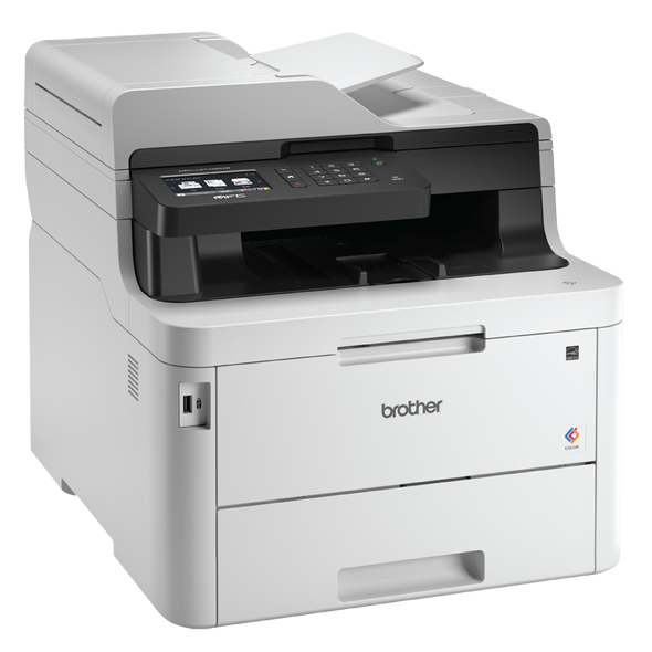 25Kg+ Freight Rate-BROTHER MFC-L3770CDW WIRELESS NETWORKABLE COLOUR LASER MULTI-FUNCTION CENTRE WITH 2-SIDED PRINTING & 2-SIDED SCANNING & FAX | MFC-L3770CDW | Rosman Computers - 9