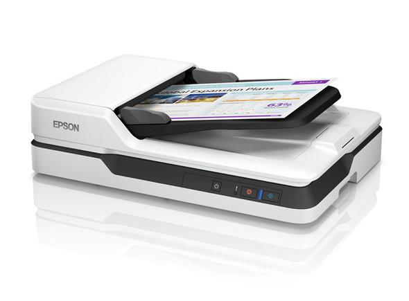 Epson WorkForce DS-1630, 1200x1200 DPI, ADF 600x600 DPI, 3 COLOR RGB LED, 1500sht DUTY, USB 3.0, 12 MTH RTB, WIN+OSX   B11B239501   Rosman Computers - 2