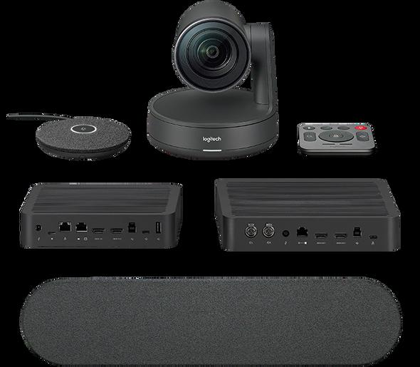 Logitech Rally Ultra-HD ConferenceCam System, includes Rally Camera, 1x Mic, 1x Speaker, Display Hub & Rally Hub | 960-001219 | Rosman Computers - 2