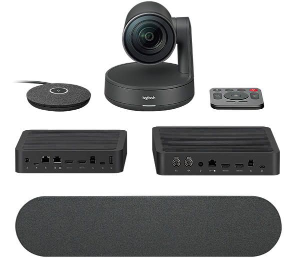 Logitech Rally Ultra-HD ConferenceCam System, includes Rally Camera, 1x Mic, 1x Speaker, Display Hub & Rally Hub | 960-001219 | Rosman Computers - 3