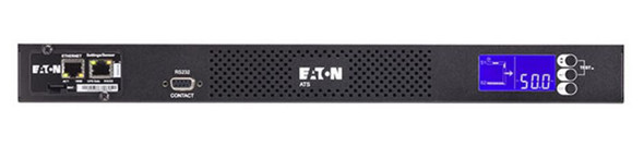 Eaton Automatic Transfer Switch w/Network Card - (2)C20 16A Input, (8)C13, (1)C19 Outlets, 440 x 390 x 43, 5kg   EATS16N   Rosman Computers - 2