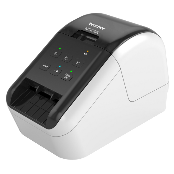 Brother WIRELESS (WiFi) HIGH SPEED LABEL PRINTER / UP TO 62MM WITH BLACK/RED PRINTING