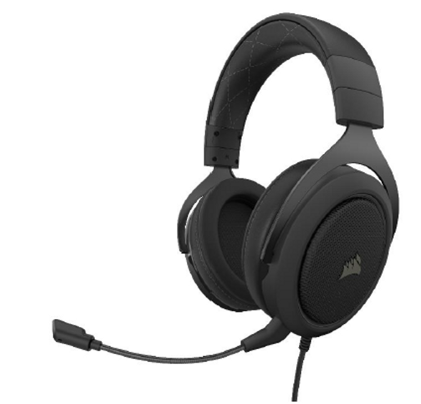 CORSAIR HS60 PRO SURROUND Gaming Headset, Carbon