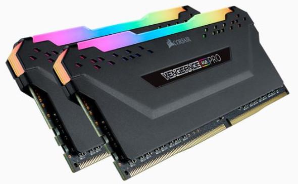 Corsair DDR4, 3200MHz 16GB 2 x 288 DIMM, Unbuffered, 16-18-18-36