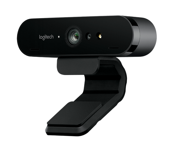 Logitech Brio 4K Ultra HD webcam with RightLightT 3 with HDR (Brown Box Packaging)