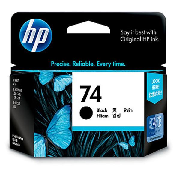 HP 74 BLACK INK CARTRIDGE | CB335WA | Rosman Computers - 2